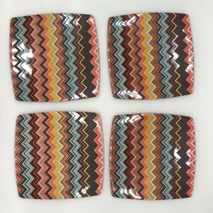 Missoni for Target Melamine Dinner Plate Set (4)